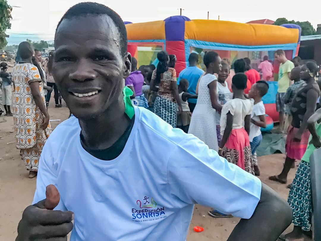 Expedición Sonrisa en Ouagadougou, Burkina Faso, África