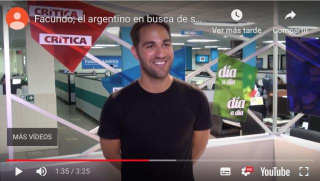 Entrevista Editorial Espasa Panamá a Facundo Mattos Expedición Sonrisa