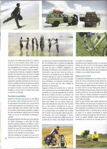 Revista Biciclub facundo mattos y su viaje en bicicleta pedal por la paz